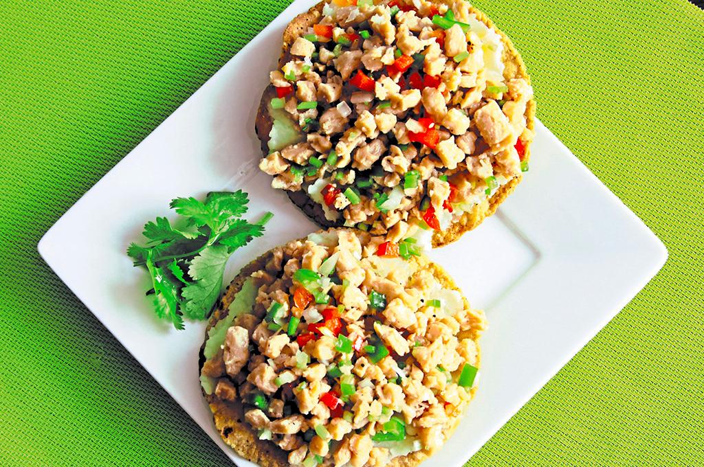 enchiladas con soya