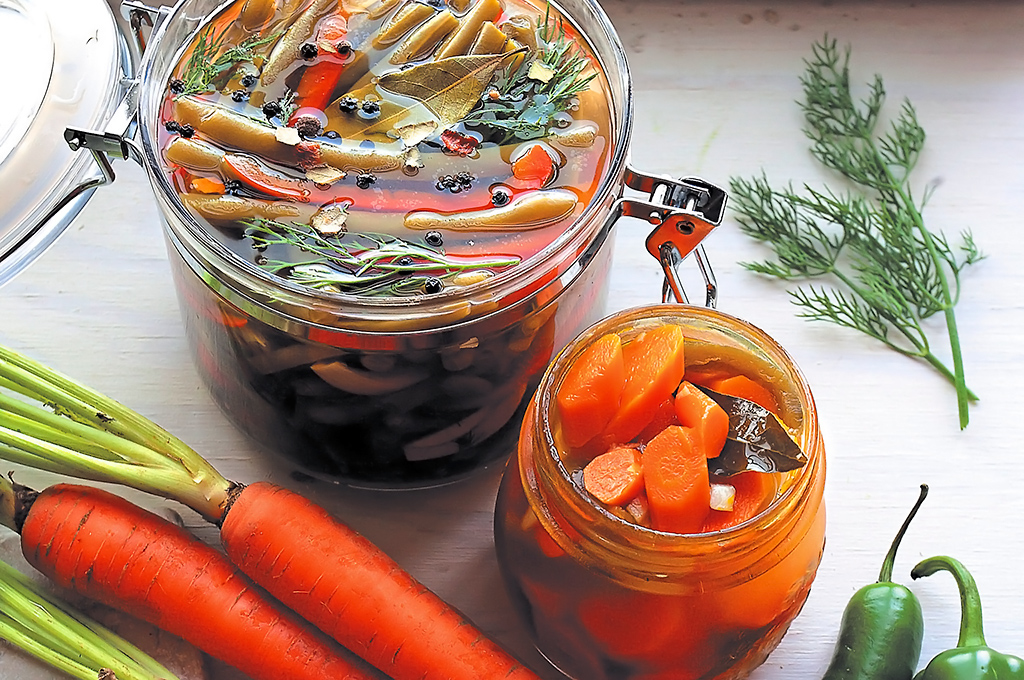 encurtido de zanahoria