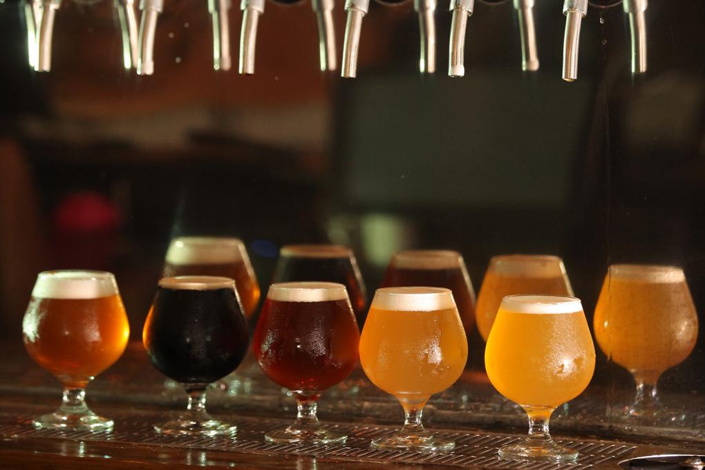 variedad cerveza artesanal