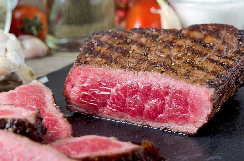 carne de res, filete de res, témino de cocción de la carne