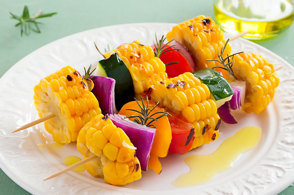 pincho de vegetales