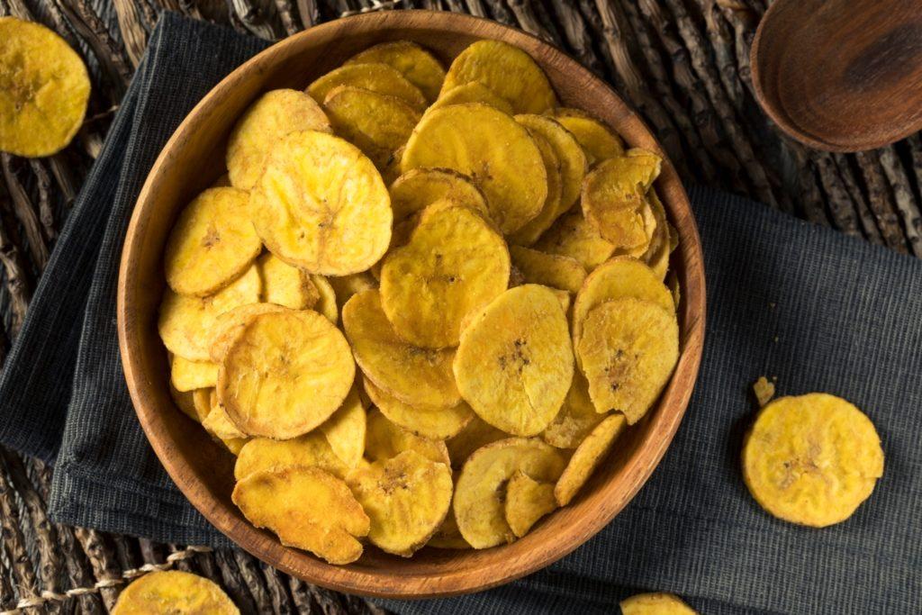 chips de platano verde