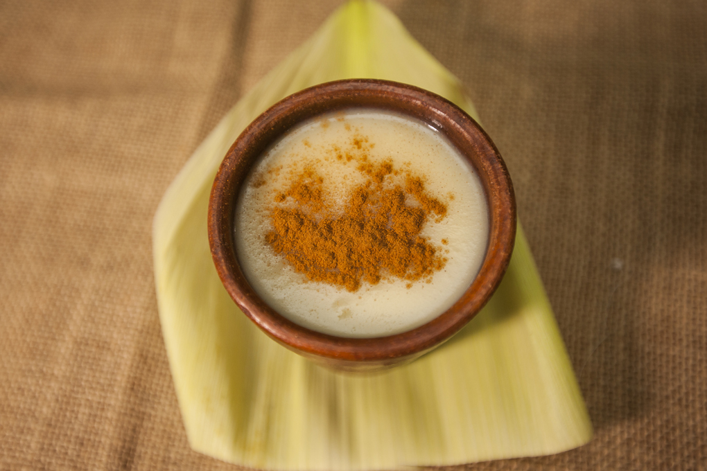 Delicioso atol elaborado a base de maíz.