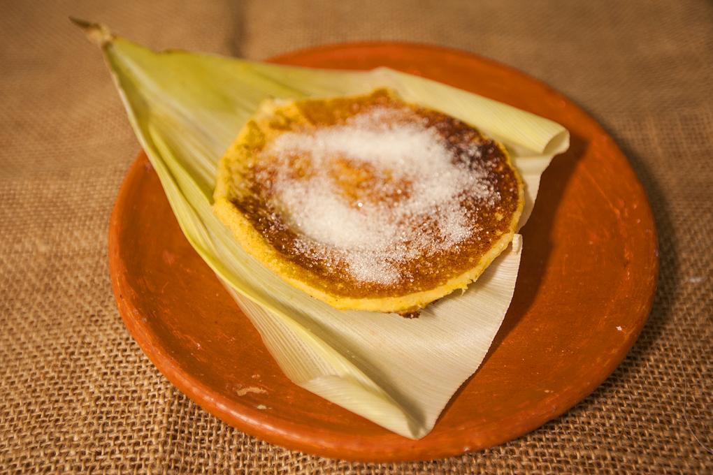 Las fritas dulce manjar elaboradas a base de maíz.