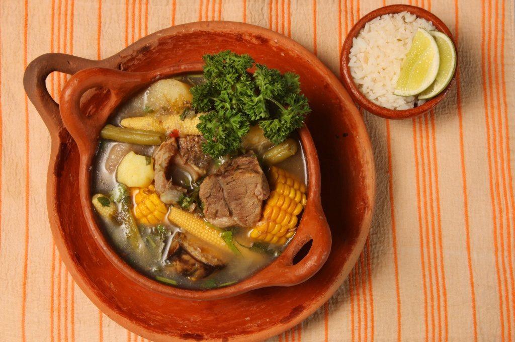 Deliciosa sopa de olla muy popular en todo el territorio.