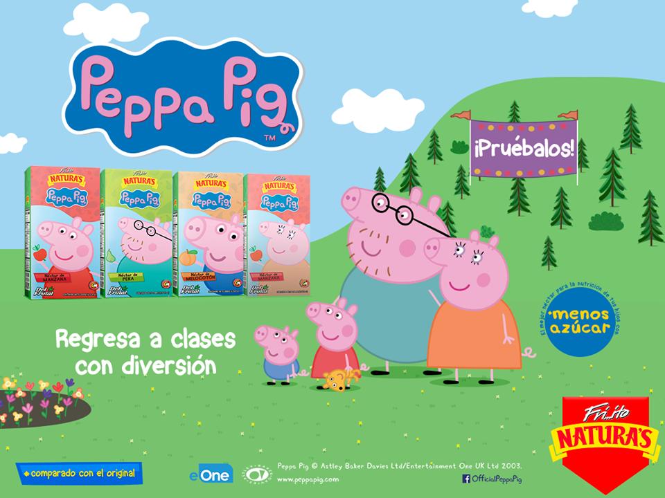 Friito Naturas Peppa Pig